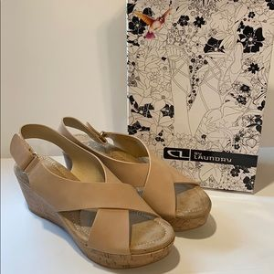 CL by Laundry SZ 9.5 Darlin Dusty Pink Sandals